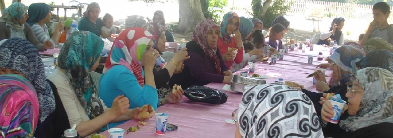 Hanımlar Piknikte Buluştu